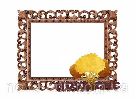 Резная рама из дерева  для картин и зеркал 180