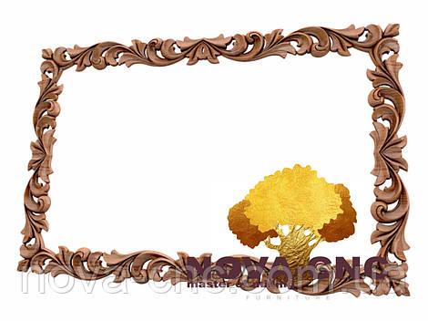 Резная рама из дерева  для картин и зеркал 178