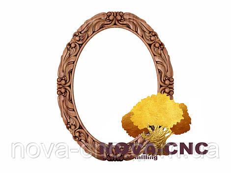 Резная рама из дерева  для картин и зеркал 185