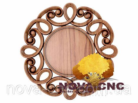 Резная рама из дерева  для картин и зеркал 189