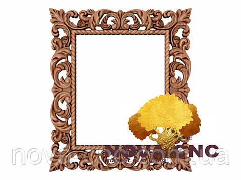 Резная рама из дерева  для картин и зеркал 190
