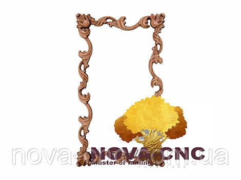 Резная рама из дерева  для картин и зеркал 187