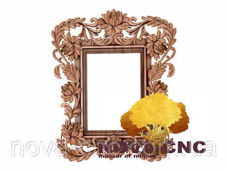 Резная рама из дерева  для картин и зеркал 198