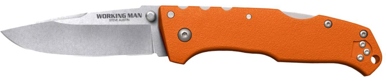 Нож Cold Steel Working Man оранжевый