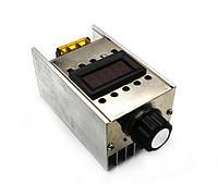 220V 4000 Вт Электронный регулятор напряжения + вольтметр, фото 1