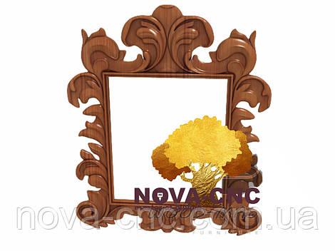 Резная рама из дерева  для картин и зеркал 45