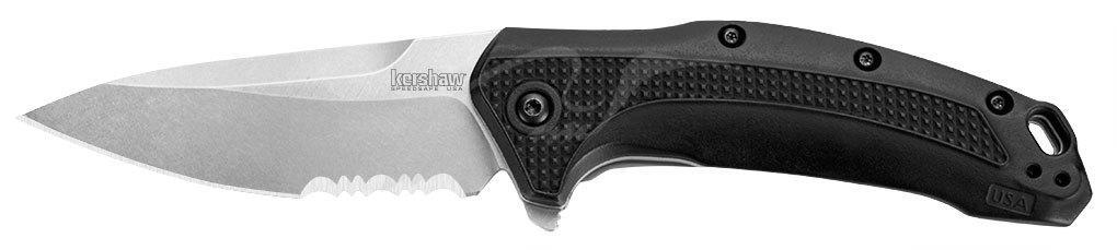 Нож Kershaw Link 420HC GFN, 2-хсторонняя клипса