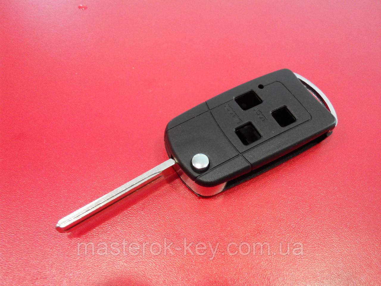 Заготовка выкидного ключа LEXUS 3 кнопки 124#