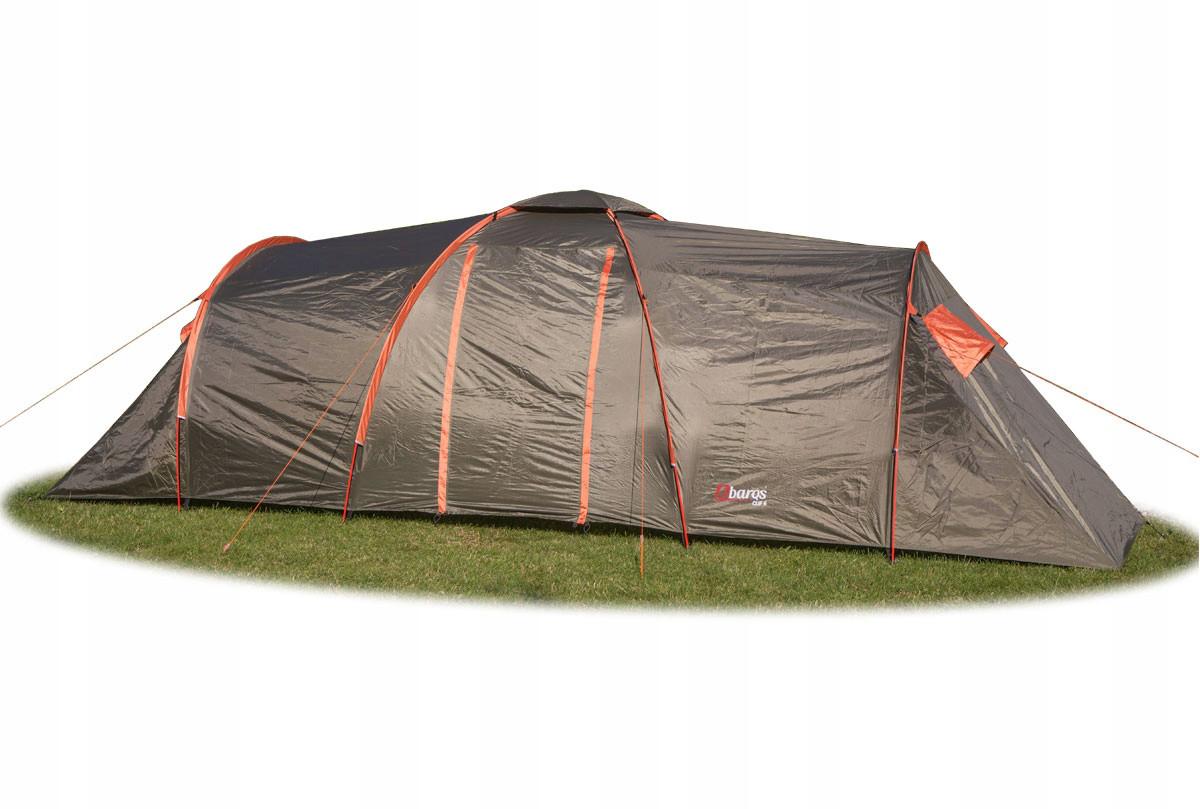 Палатка Abarqs Clif 6, тамбур,проклеенные швы