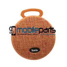 Портативная Bluetooth колонка (Аудиоколонка) HOCO BS7 MOBU SPORT(Оранжевый)