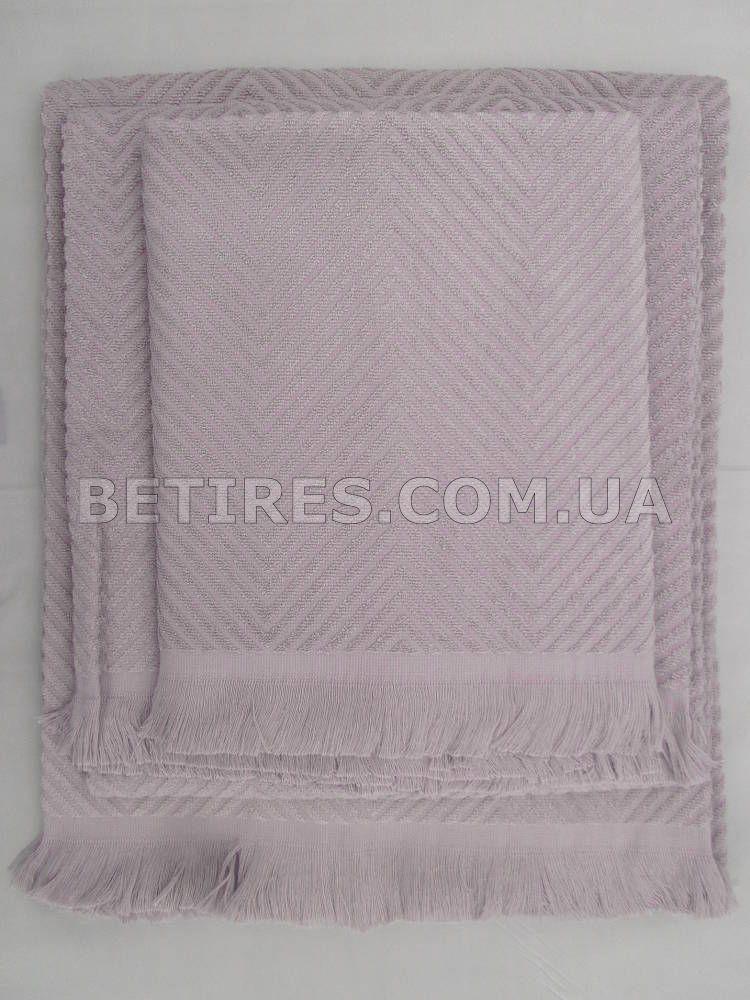 Полотенце бамбуковое 90x180 ISSIMO ANDORRA PURPLE(MOR) фиолетовое