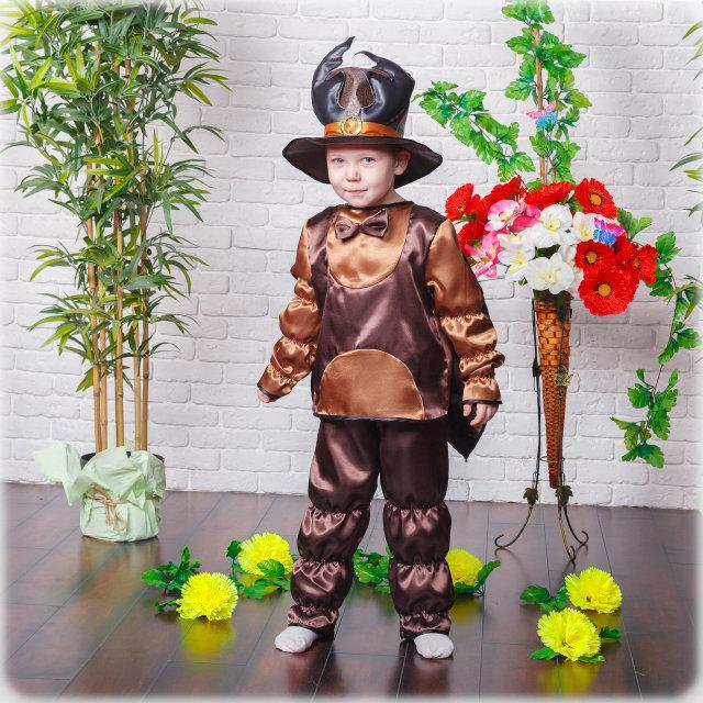Маскарадный костюм Жука для мальчика на утренник 4-7 лет