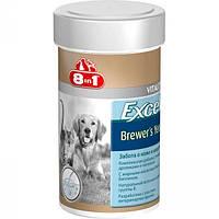 8 in 1 Excel Brewers Yeast витамины для собак, 780 таблеток.