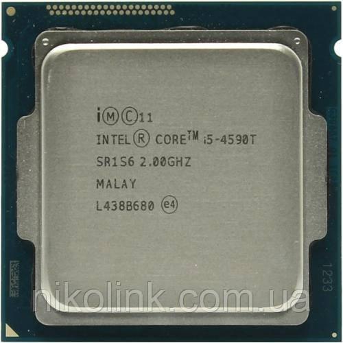 Процессор Intel Core i5-4590T 2.0GHz/5GT/s/6MB, s1150 (BX80646I54590T) Tray комиссионный товар