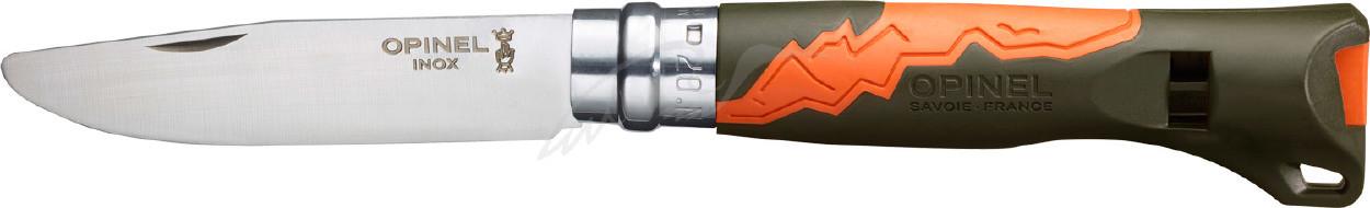 Нож Opinel №7 Outdoor Junior. оранжевый