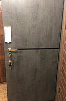 Входная металлическая (бронированная) дверь с молдингом 950мм*2070мм