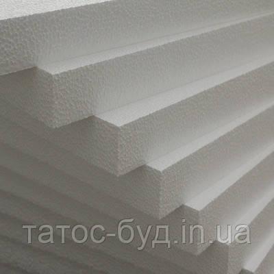 Пенопласт ПСБ-С25 1000х1000х50мм Стандарт 10-11 кг/м³