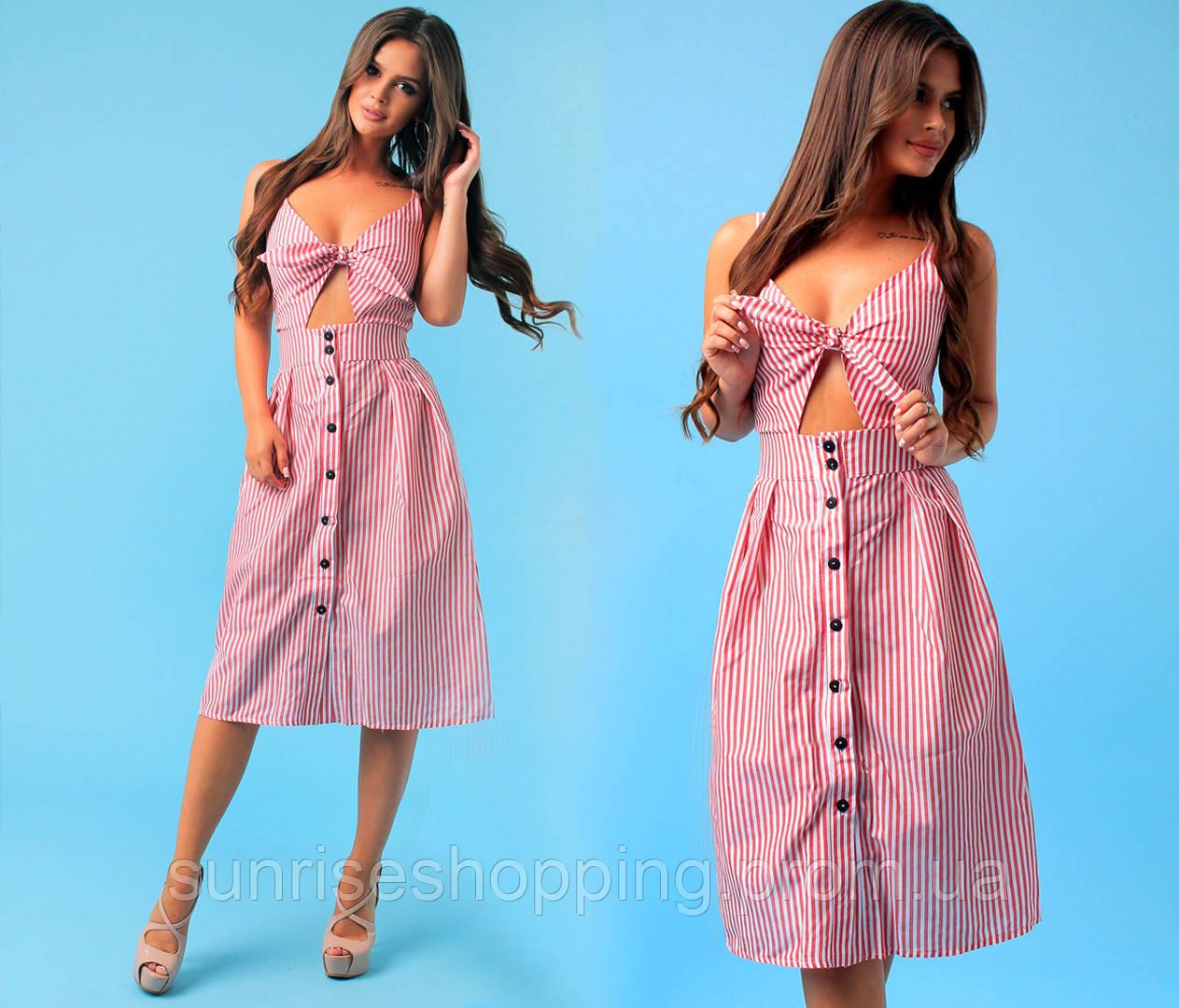 457337f6b47 Стильное летнее платье