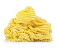 ✁ Отрез плюш Minky stripes желтый 100х75 см
