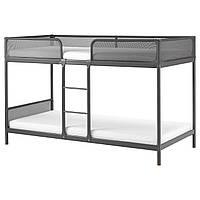 IKEA TUFFING (002.392.33) Кровать, темно-серый