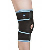 Бандаж на коленный сустав с затяжками Wellcare 52031