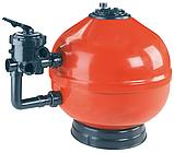 Пісочний фільтр Astral Vesubio D750, 22 м3/год, бокове підключення, фото 2
