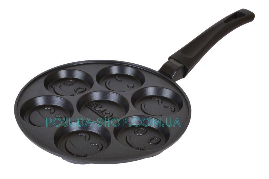 Сковорода Биол оладница-блинница антипригарная 24см
