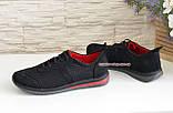 Кросівки дитячі для хлопчика з натуральних матеріалів, фото 4
