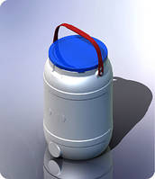 Бочка 15 литров (НЕ герметичная крышка)