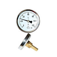 Термометр биметаллический осевой