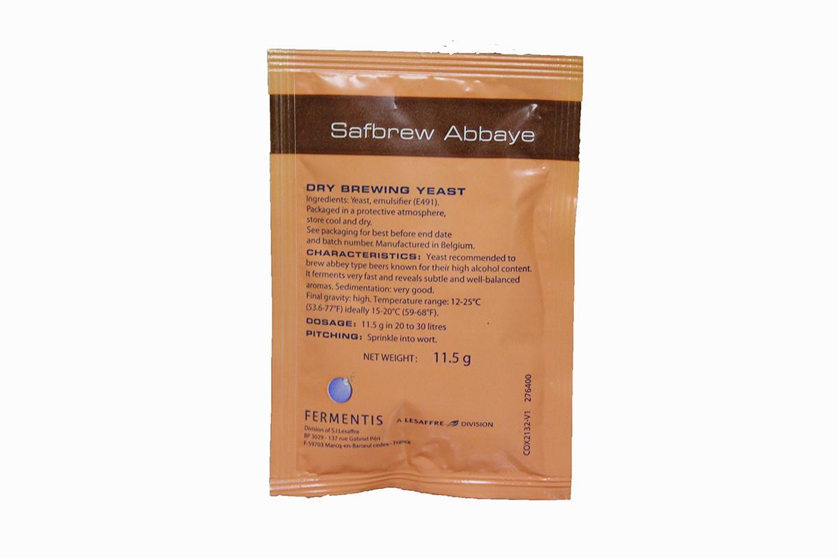 Дрожжи пивные Safbrew abbaye BE-256