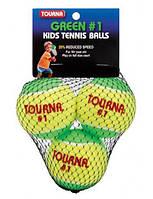 Мяч теннисный Unique Kids-1 (-25%) Green поштучно