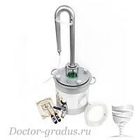 """Дистиллятор  Доктор Градус """"Стиллмен-Вариант"""" с кубом 17 литров"""