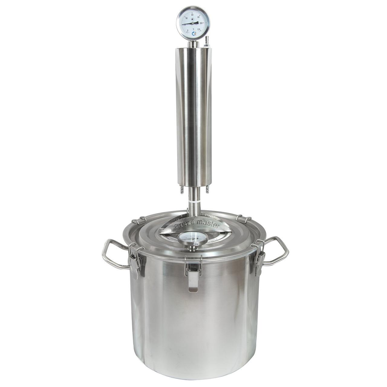 Дистиллятор Brendimaster X.O. с баком на 37 литров