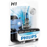 Галогенная лампа Philips DiamondVision H1 5000K 12V 12258DVB1 (1 шт.)