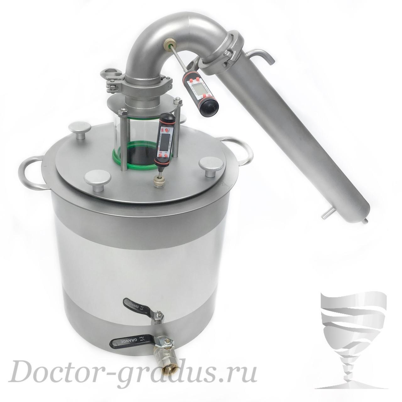 """Дистиллятор  Доктор Градус Потстилл 2"""" с баком 21 литров"""