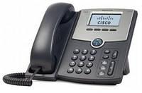 IP-телефон Cisco SB 1 Line IP Phone with Display, PoE and Gigabit PC Port (SPA512G)