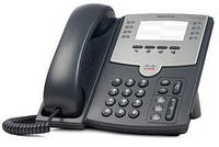 IP-телефон Cisco SB 8 Line IP Phone With PoE and PC Port (SPA501G)