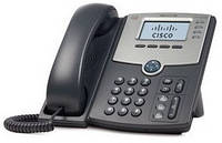 IP-телефон Cisco SB 4 Line IP Phone With Display, PoE and PC Port (SPA504G)