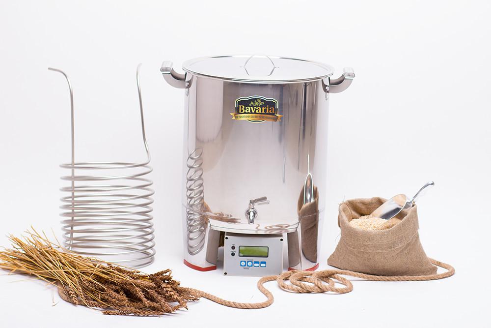 Купить домашнюю пивоварню bavaria самогонный аппарат из кеги