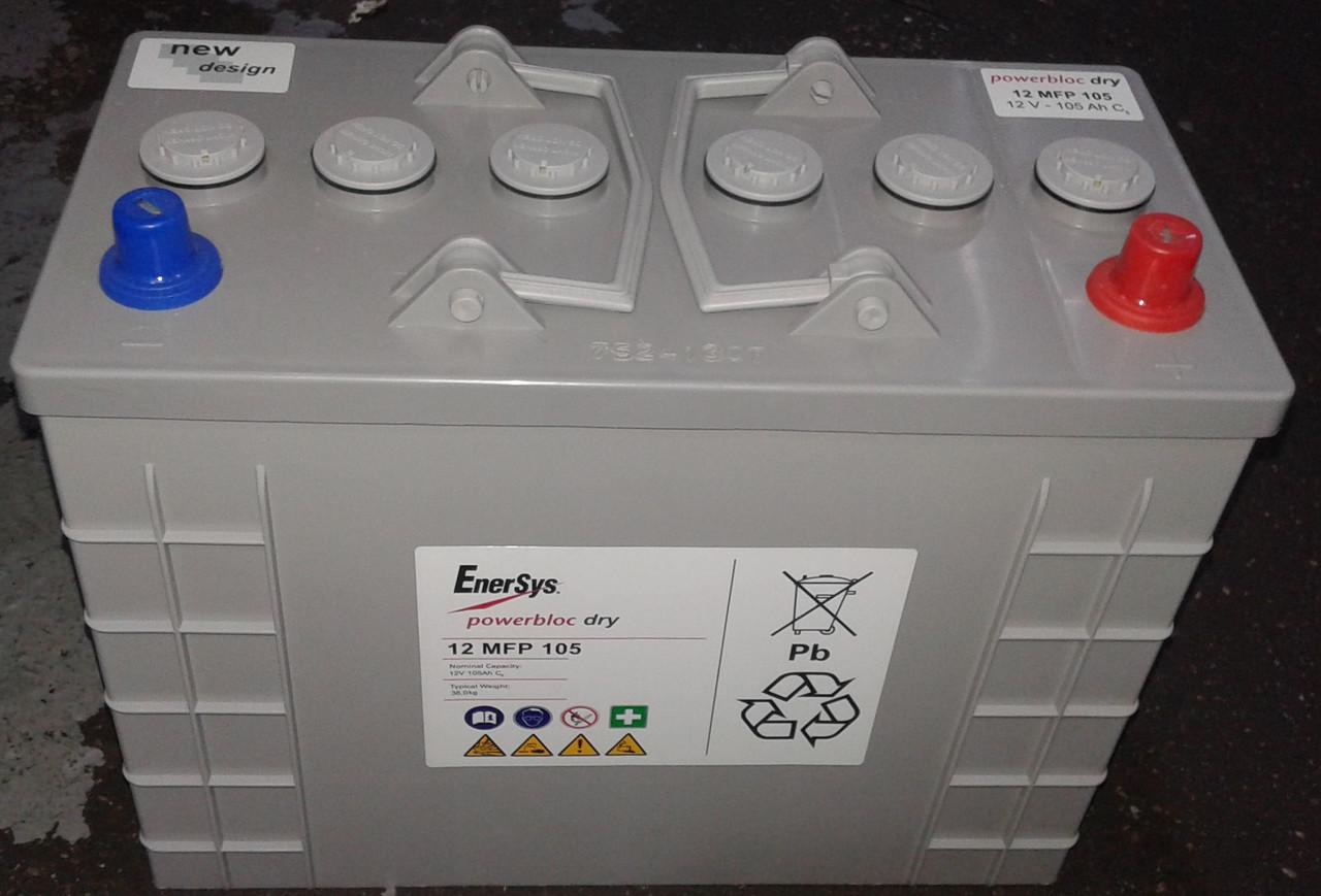 Гелевый тяговый аккумулятор Powerbloc Dry 12 MFP 105