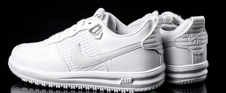 83fbdc80 Мужские кроссовки Nike Lunar Force 2018 белые топ реплика -  Интернет-магазин обуви и одежды
