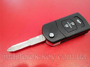 Заготовка выкидного ключа MAZDA 3 кнопки 402#