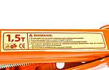 Домкрат 1,5 т Elegant PLUS EL 100 825 винтовой ромбовидный с ручкой, фото 2