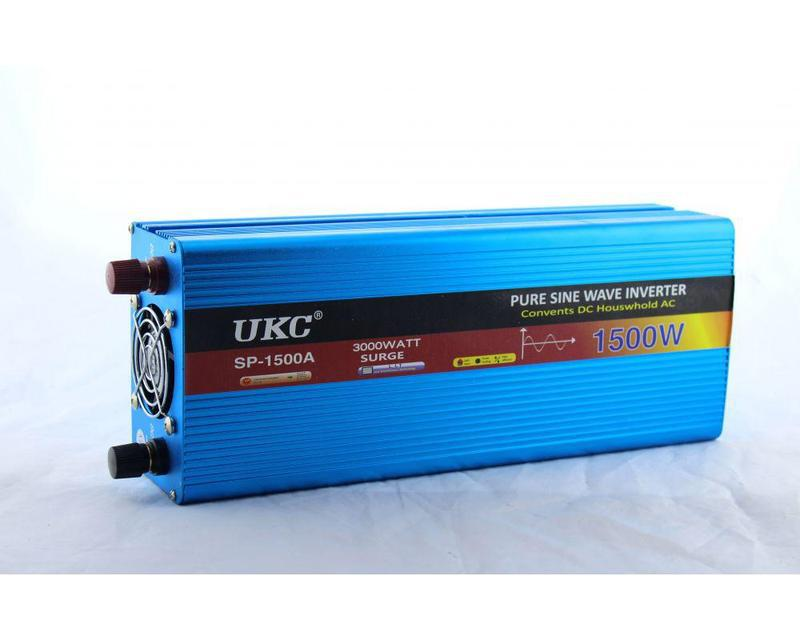 Преобразователь синусоида UKC AC/DC sine 1500W / Инвертор чистая синусоида