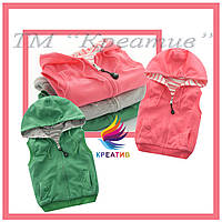 Флисовые жилеты детские (под заказ от 50 шт.)