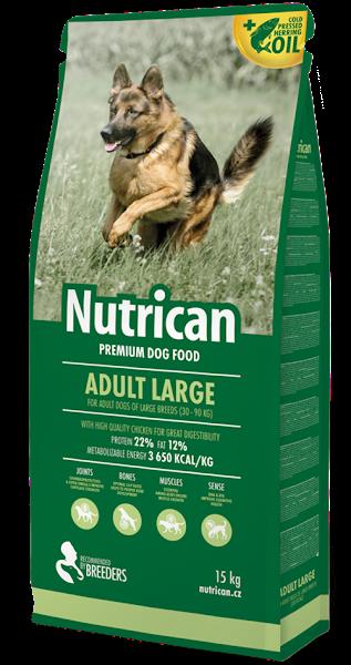 Nutrican Adult Large 15кг корм для собак великих порід