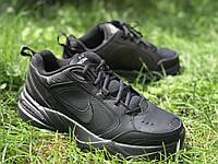 Оригинальные мужские кроссовки Nike Air Monarch IV Black (415445-001)