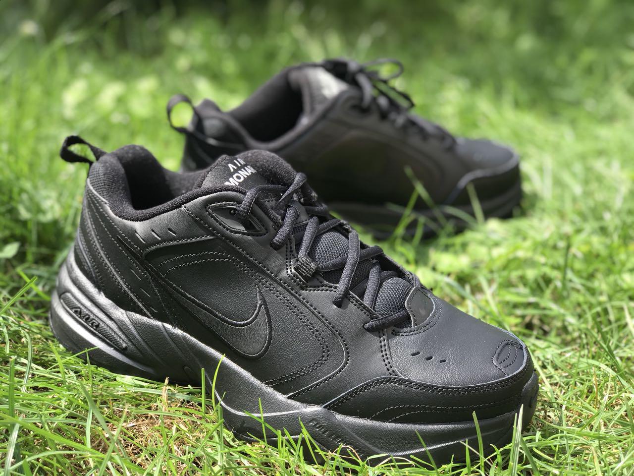 b0c3532c Оригинальные мужские кроссовки Nike Air Monarch IV Black - Sport-Boots -  Только оригинальные товары