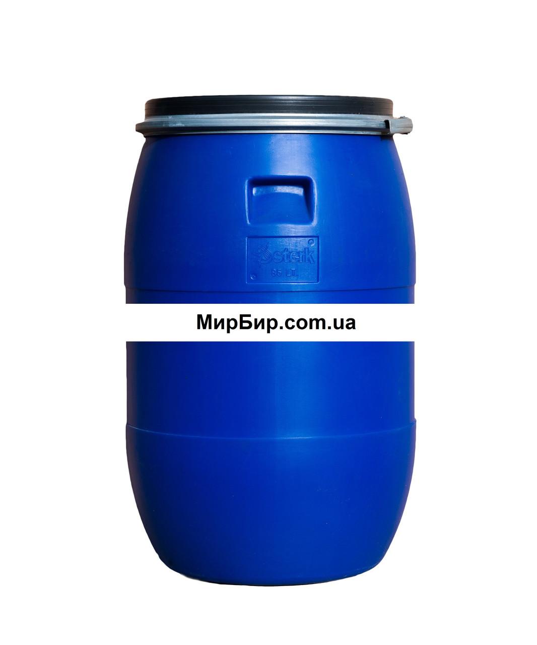 Бочка с зажимом, 85 литров
